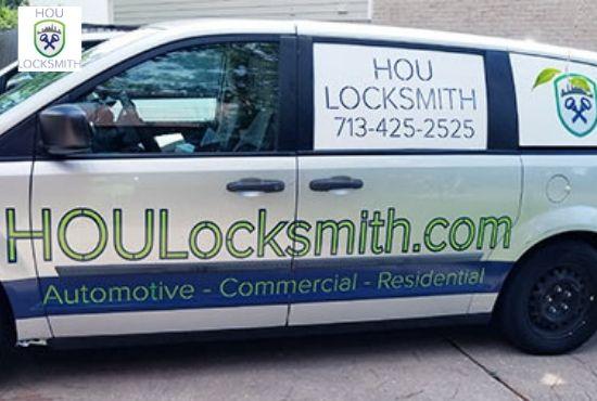 HOU Locksmith - Van