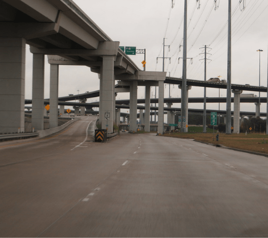 HOU Locksmith - Meadows Place Locksmith -Driving Underneath Sam Houston Tollway in Meadows Place,Tx
